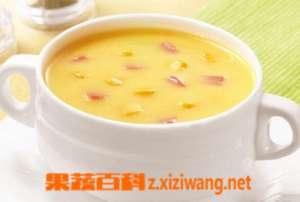 玉米浓汤怎么做 玉米浓汤的做法大全